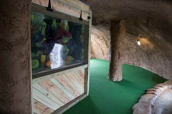 Miniature Golf Solutions Fish Tank Cave