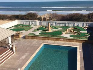 Miniature Golf Solutions Vacation Rental OBX